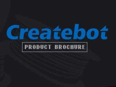 Createbot Product Brochure
